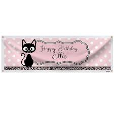 chalkboard halloween cat clear background kitty cat diva ultimate party pack for 8 shindigz