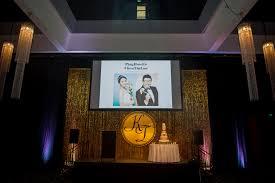 wedding backdrop logo premium gold sequin backdrop wedstyle weddings events