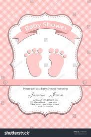 baby baby shower invitation card stock vector 214891906