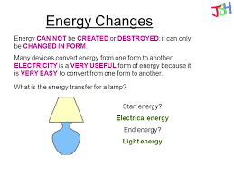 what type of energy is light forms of energy energy types energy transfers wasted energy joules