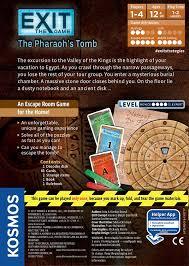amazon com thames u0026 kosmos exit the pharaoh u0027s tomb game toys