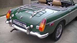 british racing green mg mgb roadster british racing green video www erclassics com