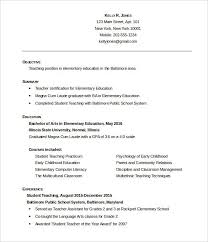 Example Of Artist Resume by Resume Examples Education Examples Of Resumes For Education Jobs
