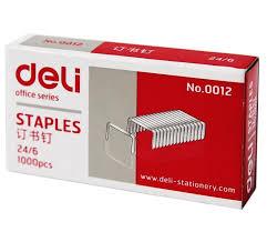 aliexpress buy deli 0012 24 6 metal silver color staple
