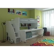 Beds That Have A Desk Underneath Bunk Beds U0026 Loft Beds With Desks Wayfair