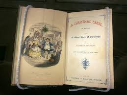 charles dickens a carol on display in special