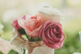 Gambar mekar menanam daun bunga merapatkan berwarna merah muda