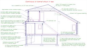 a personal journey building my own passive house part 2 bpc a detailed cross section of the planned house illustrating some of the ways a