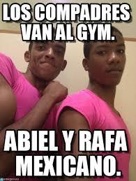 Memes Gym - los compadres van al gym gay gay gay meme on memegen