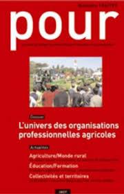 revue chambres d agriculture l emploi en agriculture et agro l évolution du conseil agricole et du rôle des chambres d