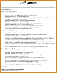 F B Manager Resume Sample by Assistant General Manager Bar Manager Assistant Manager Resume