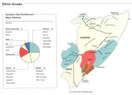 Map Of Somalia Of Somalia Africa