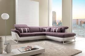 modèle canapé canapé d angle design en cuir et tissu modèle oblo magasin de
