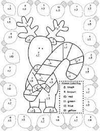 collection solutions christmas addition coloring worksheets