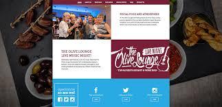 Idea Website by The Olive Lounge Website Idea Design