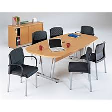 ofm tempered glass conference table stainless steel amazon com modern tempered glass conference table 71 by 35 with