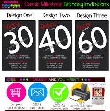 free 60th birthday party invitation templates printable