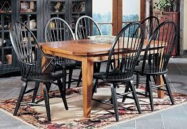 attic heirlooms dining table attic heirlooms leg table dining set distressed solid oak hardwood