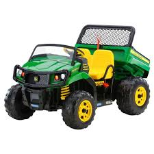 electric pickup truck big wheel battery powered electric kids toy rider gator dump