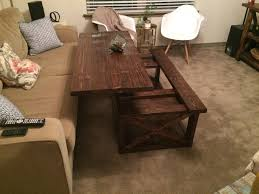 solid wood coffee table with lift top rising coffee table inspirational lift top coffee table buethe www