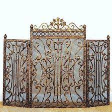 Country Fireplace Screens by Fireplace Screens U0026 Doors In Type Fireplace Screen Style French