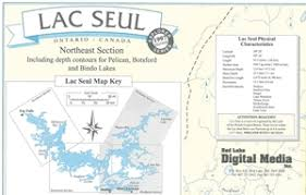 map of southeast canada themapstore canada lake maps