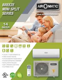 ductless mini split hidden breeze series ductless mini split air o matic air conditioning