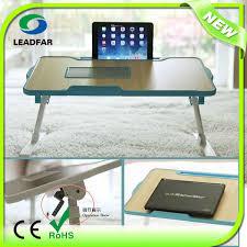 Bedside Laptop Desk Adjustable Aluminum Notebook Stand Folding Laptop Adjustable