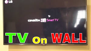 how to mount a tv on wall how to put tv on a wall mount tv on wall get fixed youtube