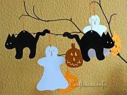 free paper craft ideas fall and halloween craft halloween