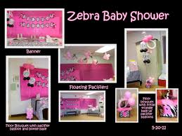 zebra baby shower decorations best baby decoration