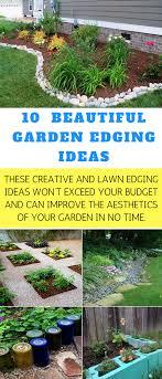 Garden Edging Idea 10 Beautiful Garden Edging Ideas Organic Gardening