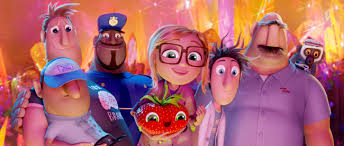 cloudy chance meatballs 2 review bill hader anna