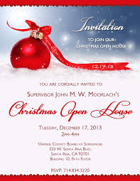 open house invitations moorlach update annual christmas open house invitation