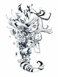 25 alice wonderland drawings ideas alice