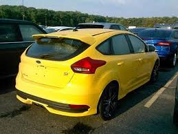 ford focus st yellow 2017 ford focus st for sale plymouth wi 2 0 l 4 cylinder