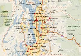 seattle map by county seattle real estate and market trends helpful investing
