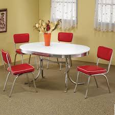 simple dining room ideas with yellow wall color using metal framed