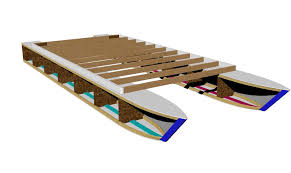 Wooden Boat Plans For Free by Pontoon Boat Plans Easy To Build From Common Lumber Get Your Set