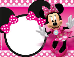 colors minnie mouse birthday invitations personalized minnie