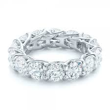 custom diamond eternity wedding band 102342