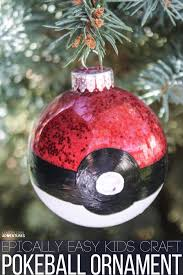 Easy Homemade Christmas Ornaments by Epically Easy Homemade Pokeball Christmas Ornament