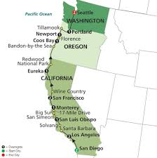 Highway Map Of Oregon by San Diego To Vancouver Road Trip Google Search Seattle