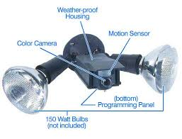 security light with camera wireless new