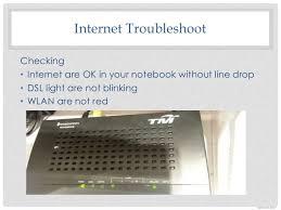 Dsl Light Blinking No Internet How To Check Internet Line