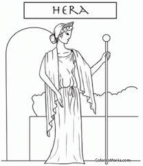 imagenes de zeus para dibujar faciles encantador diosa griega para colorear regalo ideas para colorear