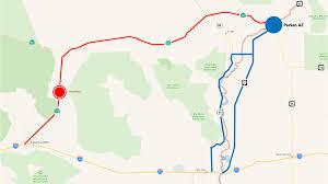 Us Desert Map Crash Kills 4 People In Homebound Weekend Traffic Parker Live