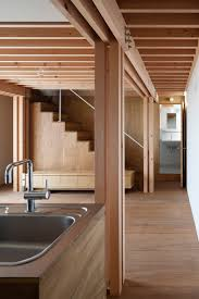 Japanese Interior Architecture Ft Architects U0027 4 Columns House Features A Timber Frame Ancient