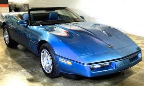 c4 corvette convertible for sale capsule 1k 1987 corvette convertible up for grabs on