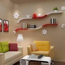 simple wall shelf wall shelf tv wall living room furniture